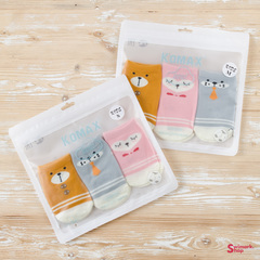 Носочки детские KOMAX Baby-7 color-3, 3 шт. в уп.