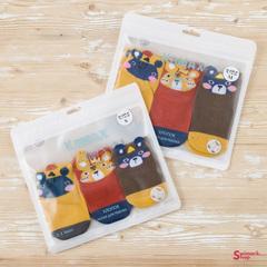 Носочки детские KOMAX Baby-8 color-5, 3 шт. в уп.