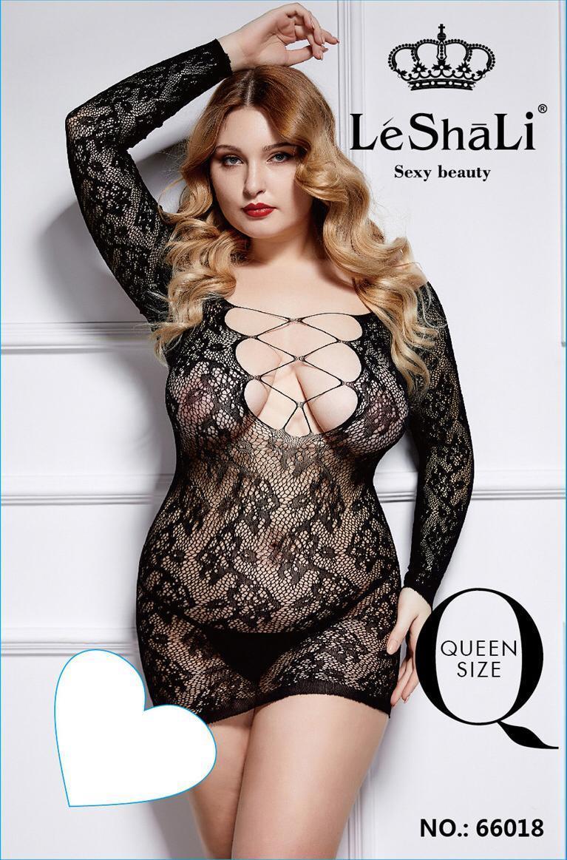 Le Shali Эротическая боди-сетка LE SHALI 66018 Queen Size swimark.shop100054.JPG
