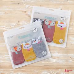 Носочки детские KOMAX Baby-8 color-3, 3 шт. в уп.