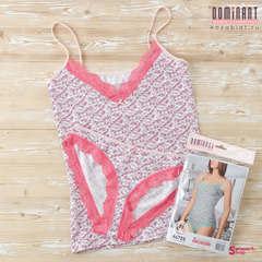 Комплект женский DOMINANT 46725 (майка+трусы), Розовый