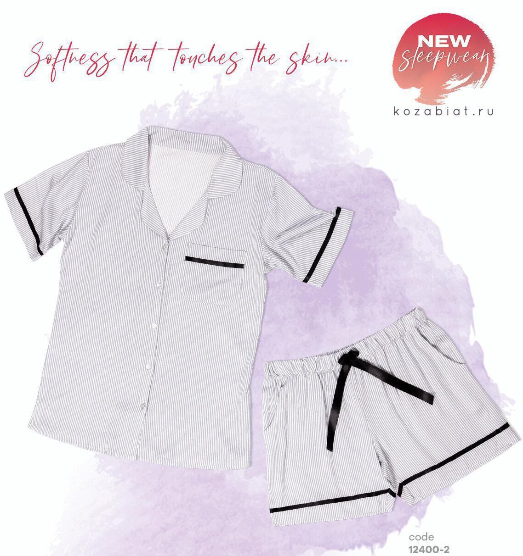 Пижамы Пижама женская DOMINANT 12400-2 kozabiat.ru_12400-11.jpg