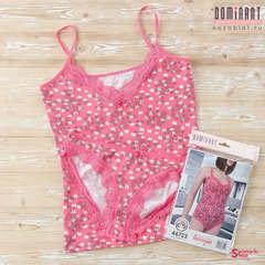Комплект женский DOMINANT 46723 (майка+трусы), Розовый