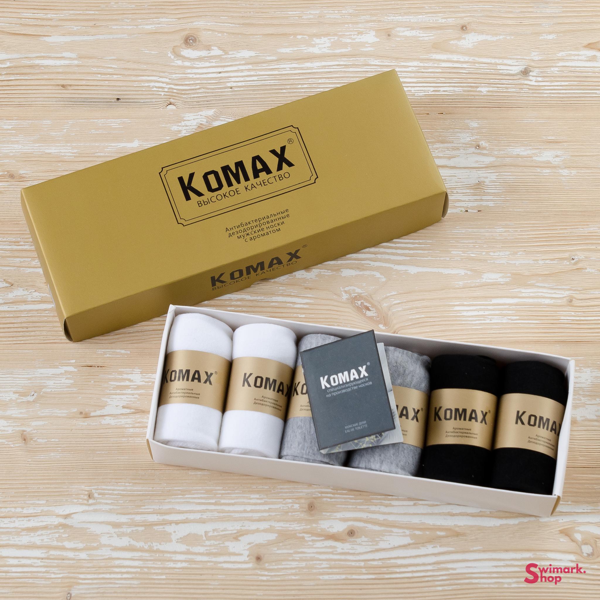 Носки мужские KOMAX ARR-31, 6 шт. в уп.