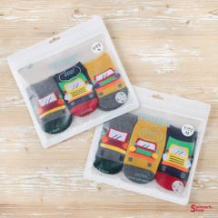 Носочки детские KOMAX Baby-7 color-6, 3 шт. в уп.